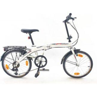 Bicicleta pliabila Sprint Probike Folding 20 6SP alb